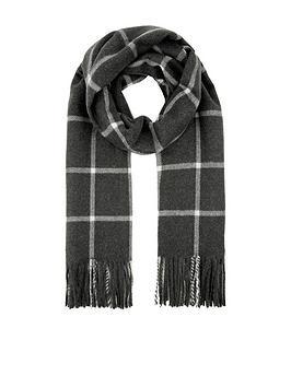 accessorize-carter-window-pane-check-blanket-grey