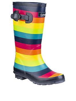 cotswold-stripe-wellington-boots