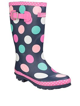 cotswold-girls-spotty-wellington-boots
