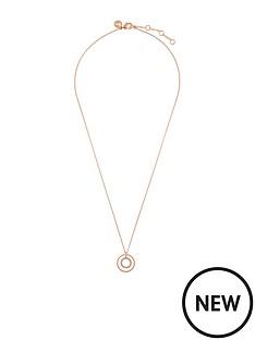 accessorize-rose-goldnbsppave-circle-pendant-necklace
