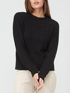 v-by-very-boucle-crew-neck-jumper-black