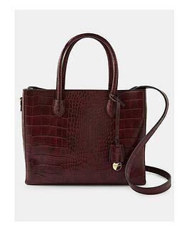 accessorize-gemma-croc-handheld-bag-burgundy