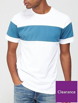 very-man-chest-panel-t-shirt-whiteblue