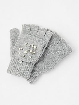 accessorize-pearl-capped-glove-grey