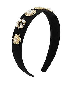 accessorize-pearl-and-crystal-alice-band-black