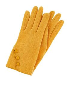 accessorize-wool-glove-with-buttons-yellow