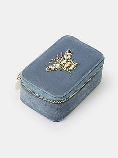 accessorize-bee-embroidered-jewellery-box-blue
