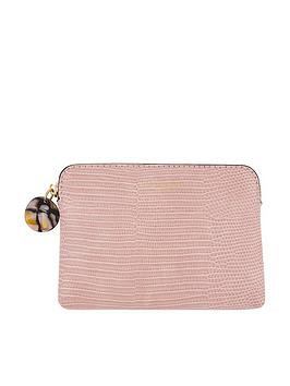 accessorize-reptile-ampnbspresin-coin-purse-pink