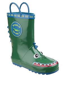 cotswold-boys-crocodile-wellington-boots