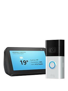 ring-video-doorbell-3-amp-amazon-echo-show-5-black