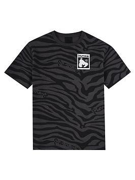 money-boys-zebra-hallmark-short-sleeve-t-shirt-black