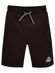 kings-will-dream-boys-crosby-jog-shorts-black