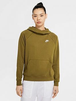 nike-nswnbspessential-pullovernbspfunnel-hoodie-olivenbsp