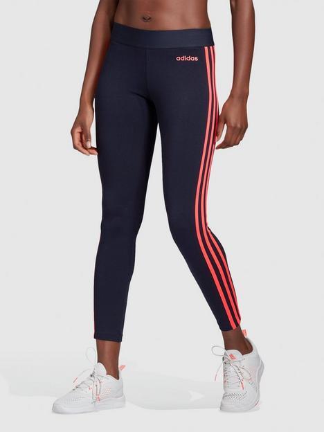 adidas-3-stripe-leggingsnbsp--inknbsp