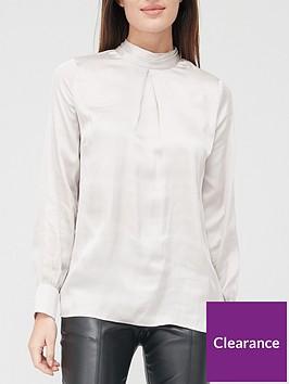 v-by-very-satin-high-neck-blouse-silver
