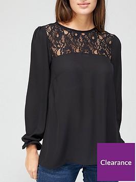 v-by-very-lace-yolk-blouse-black