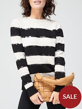 v-by-very-knitted-jumper-withnbspsequin-detail-stripe
