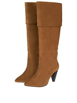 monsoon-suede-long-slouch-boots-tan
