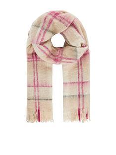 monsoon-check-blanket-scarf-pastel