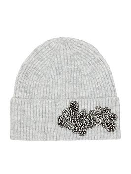 monsoon-embellished-knitted-hat-grey