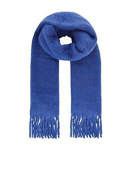monsoon-brushed-scarf-cobalt-blue