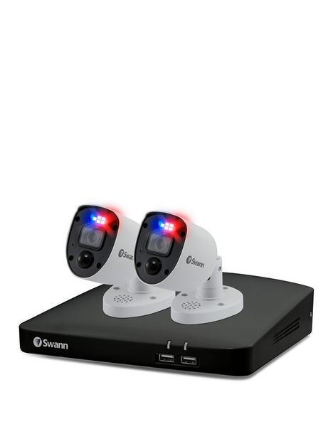 swann-smart-security-cctv-system-4-chl-4k-1tb-hdd-dvr-2-x-pro-4k-enforcer-camera-works-with-alexa-google-assistant-amp-swann-security-swdvk-456802rl-eu