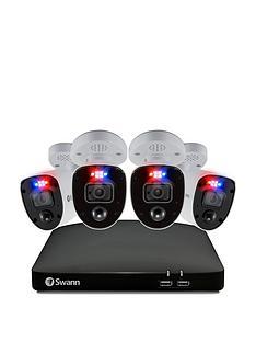 swann-smart-security-cctv-system-8-chl-4k-2tb-hdd-dvr-4-x-pro-4k-enforcer-camera-works-with-alexa-google-assistant-amp-swann-security-swdvk-856804rl-eu
