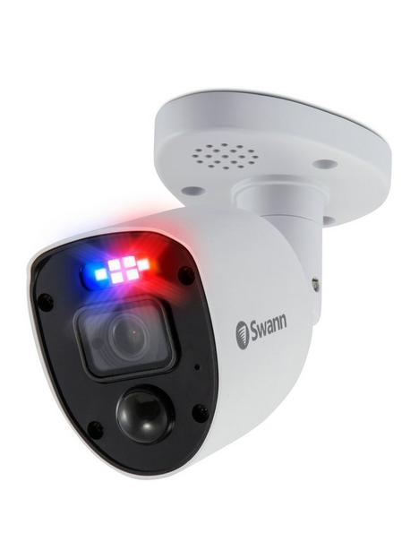 swann-smart-security-4k-enforcer-led-flashing-light-bullet-style-add-on-analogue-cctv-camera-twin-pack-swpro-4krlpk2-eu