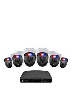 swann-smart-security-cctv-system-8-chl-1080p-1tb-hdd-dvr-6-x-pro-enforcer-camera-works-with-alexa-google-assistant-amp-swann-security-swdvk-846806sl-eu