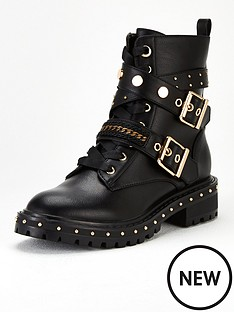 v-by-very-farrier-embellished-lace-up-boot-black