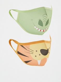 v-by-very-kids-unisex-2-pack-face-coverings-tigerdino