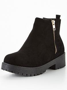 v-by-very-priya-chunky-zip-boot-black