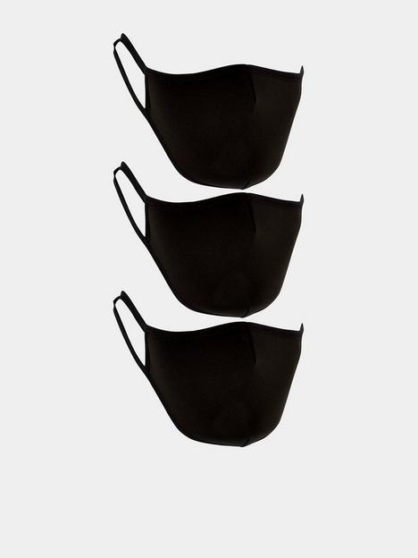 v-by-very-kids-unisex-3-pack-face-coverings-black