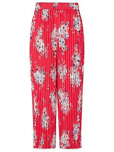monsoon-floral-pleated-trouser-red