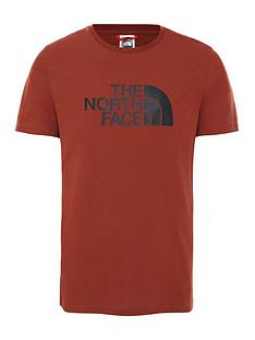 the-north-face-easy-t-shirt-brown