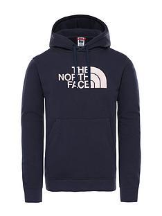the-north-face-drew-peak-overhead-hoodie-navypink