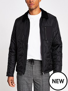 river-island-onion-quilted-harrington
