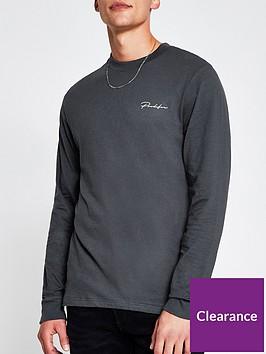 river-island-prolific-logo-long-sleeve-t-shirt-grey
