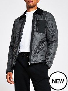 river-island-onion-quilted-harrington-jacket-dark-grey