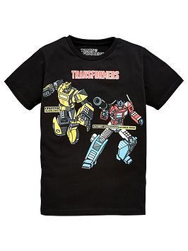 transformers-boysnbspshort-sleeve-t-shirt-black