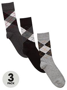very-man-fresher-for-longer-3-pack-argyle-socks-multi