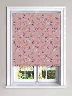 floral-printed-roller-blind
