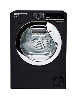 hoover-dynamic-next-dxoc9tceb-9kg-load-aquavision-condenser-tumble-dryer-with-one-touch-blackchrome