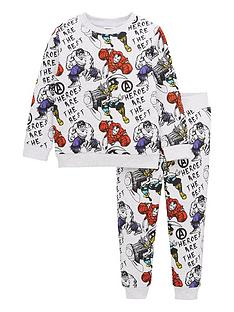 marvel-boys-marvel-two-piece-all-over-print-sweat-and-jogger-set-grey