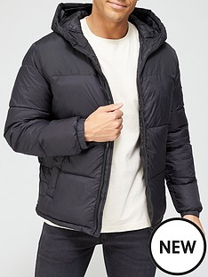 jack-jones-hooded-paddednbspjacket-blacknbsp