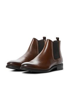 jack-jones-jason-leather-chelsea-boots