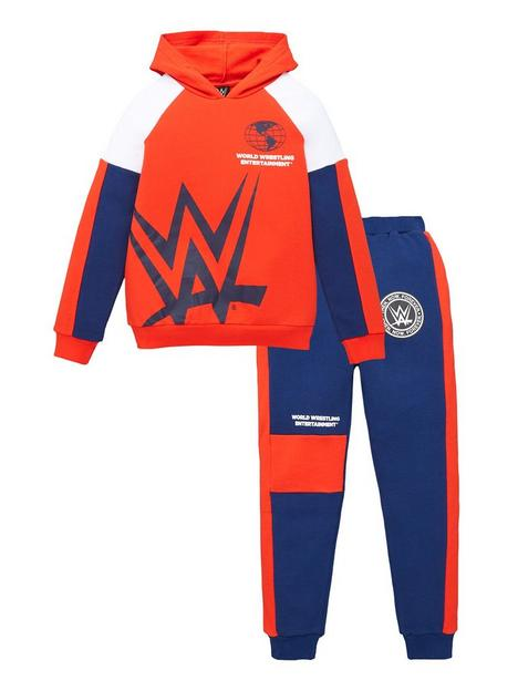 wwe-boysnbsp2-piece-hoodie-and-jogger-set-red