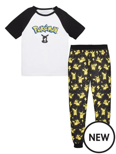 pokemon-boysnbsp2-piece-logo-raglan-loungewear-set-white