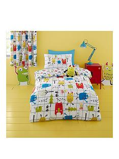 cosatto-monster-mob-single-duvet-cover-set