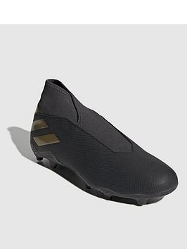 adidas-nemeziz-laceless-193-firm-ground-football-boots-black